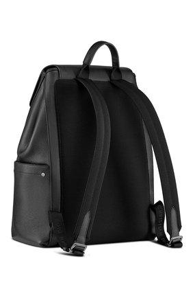 Мужской кожаный рюкзак saddle DIOR черного цвета, арт. 1ADBA143SSEH00N | Фото 2