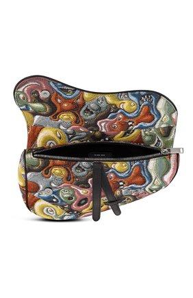 Мужская текстильная сумка saddle dior x kenny scharf DIOR разноцветного цвета, арт. 1ADPO093KSIH26E | Фото 2