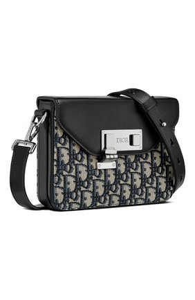 Мужская комбинированная сумка DIOR бежевого цвета, арт. 1LXPO214UCTH28E | Фото 2