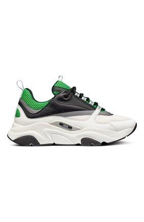 Мужские комбинированные кроссовки b22 DIOR разноцветного цвета, арт. 3SN231YKAH066 | Фото 1