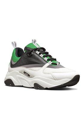 Мужские комбинированные кроссовки b22 DIOR разноцветного цвета, арт. 3SN231YKAH066 | Фото 2