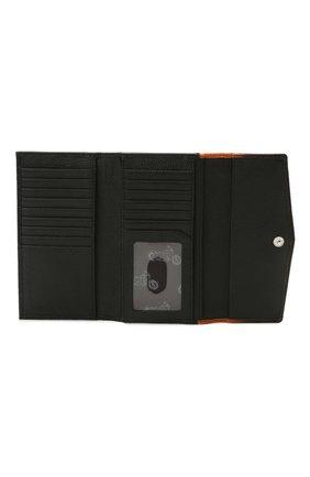 Женские кожаный кошелек HARLEY-DAVIDSON черного цвета, арт. OL1479L-OrgBlk | Фото 3