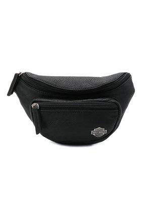 Женская поясная сумка HARLEY-DAVIDSON черного цвета, арт. RD6259L-Black | Фото 1