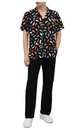 Мужская рубашка из вискозы HARLEY-DAVIDSON разноцветного цвета, арт. 96326-20VH | Фото 2 (Материал внешний: Вискоза; Случай: Повседневный; Рукава: Короткие; Принт: С принтом; Воротник: Отложной)