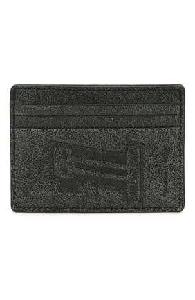 Мужской кожаный футляр для кредитных карт black label HARLEY-DAVIDSON темно-серого цвета, арт. UN7539L-Black   Фото 1