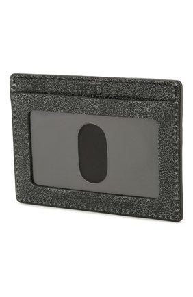 Мужской кожаный футляр для кредитных карт black label HARLEY-DAVIDSON темно-серого цвета, арт. UN7539L-Black   Фото 2