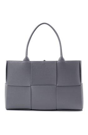 Женский сумка-тоут arco medium BOTTEGA VENETA серого цвета, арт. 609175/VCQC2 | Фото 1