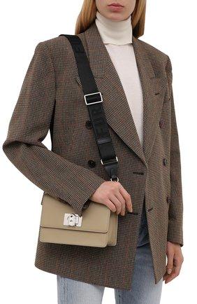Женская сумка furla 1927 soft mini FURLA бежевого цвета, арт. WB00339/AX0748   Фото 2