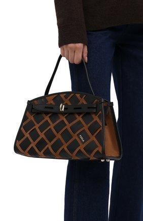 Женская сумка furla margherita FURLA черного цвета, арт. WB00174/AX0793   Фото 2