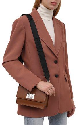 Женская сумка furla 1927 soft mini FURLA коричневого цвета, арт. WB00339/AX0748   Фото 2