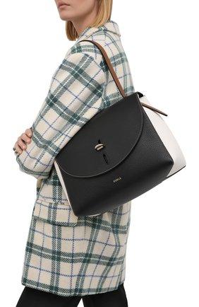 Женская сумка furla net FURLA черного цвета, арт. BAFQFUA/HSC000   Фото 2