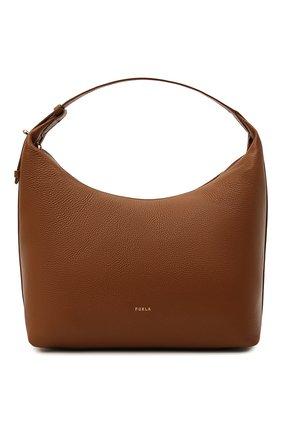 Женская сумка furla net FURLA коричневого цвета, арт. WB00229/HSF000   Фото 1