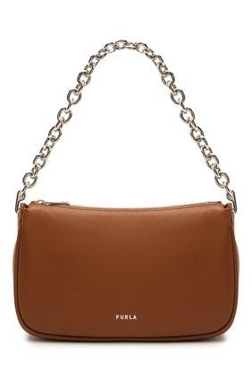 Женская сумка furla moon FURLA коричневого цвета, арт. WB00356/AX0733   Фото 1