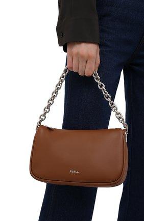 Женская сумка furla moon FURLA коричневого цвета, арт. WB00356/AX0733   Фото 2