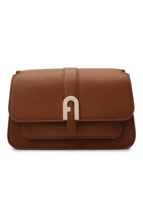 Женская сумка sofia small FURLA коричневого цвета, арт. WB00094/HSF000   Фото 1