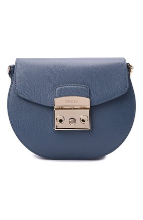 Женская сумка metropolis mini FURLA голубого цвета, арт. BATJEP0/ARE000   Фото 1