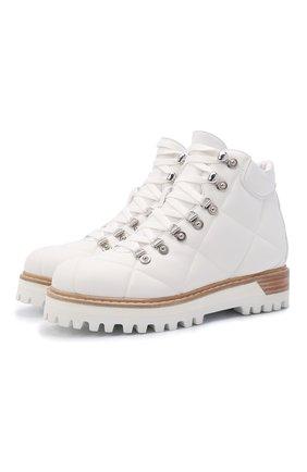Женские ботинки st. moritz LE SILLA белого цвета, арт. 7534T040M1MMFAK   Фото 1