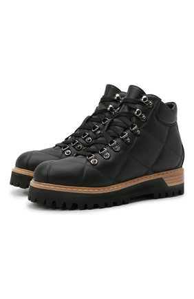 Женские ботинки st. moritz LE SILLA черного цвета, арт. 7534T040M1MMFAK   Фото 1