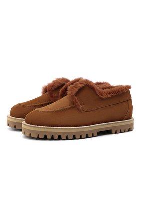 Женские замшевые ботинки LE SILLA светло-коричневого цвета, арт. 5183T020M1LLP0W   Фото 1