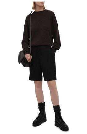 Женские кожаные ботинки atelier shoes 08 san gallo edition VALENTINO черного цвета, арт. WW2S0CN7/NPC | Фото 2