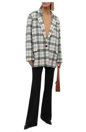 Женский шерстяной жакет ISABEL MARANT ETOILE зеленого цвета, арт. VE1331-21A010E/KAIT0 | Фото 2