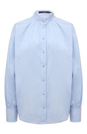 Женская хлопковая рубашка WINDSOR голубого цвета, арт. 52 DB503H 10011007 | Фото 1