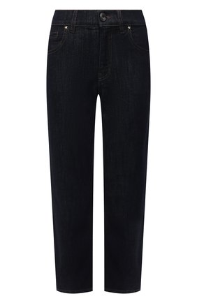 Женские джинсы LORENA ANTONIAZZI темно-синего цвета, арт. A2148PA19A/9999 | Фото 1