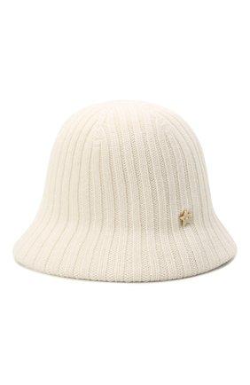 Женская шерстяная шляпа LORENA ANTONIAZZI кремвого цвета, арт. A2196CE002/328 | Фото 1 (Материал: Шерсть)