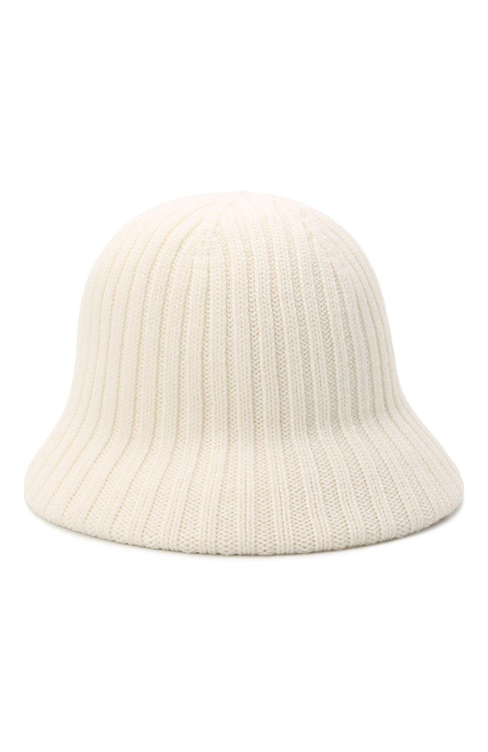 Женская шерстяная шляпа LORENA ANTONIAZZI кремвого цвета, арт. A2196CE002/328 | Фото 2 (Материал: Шерсть)