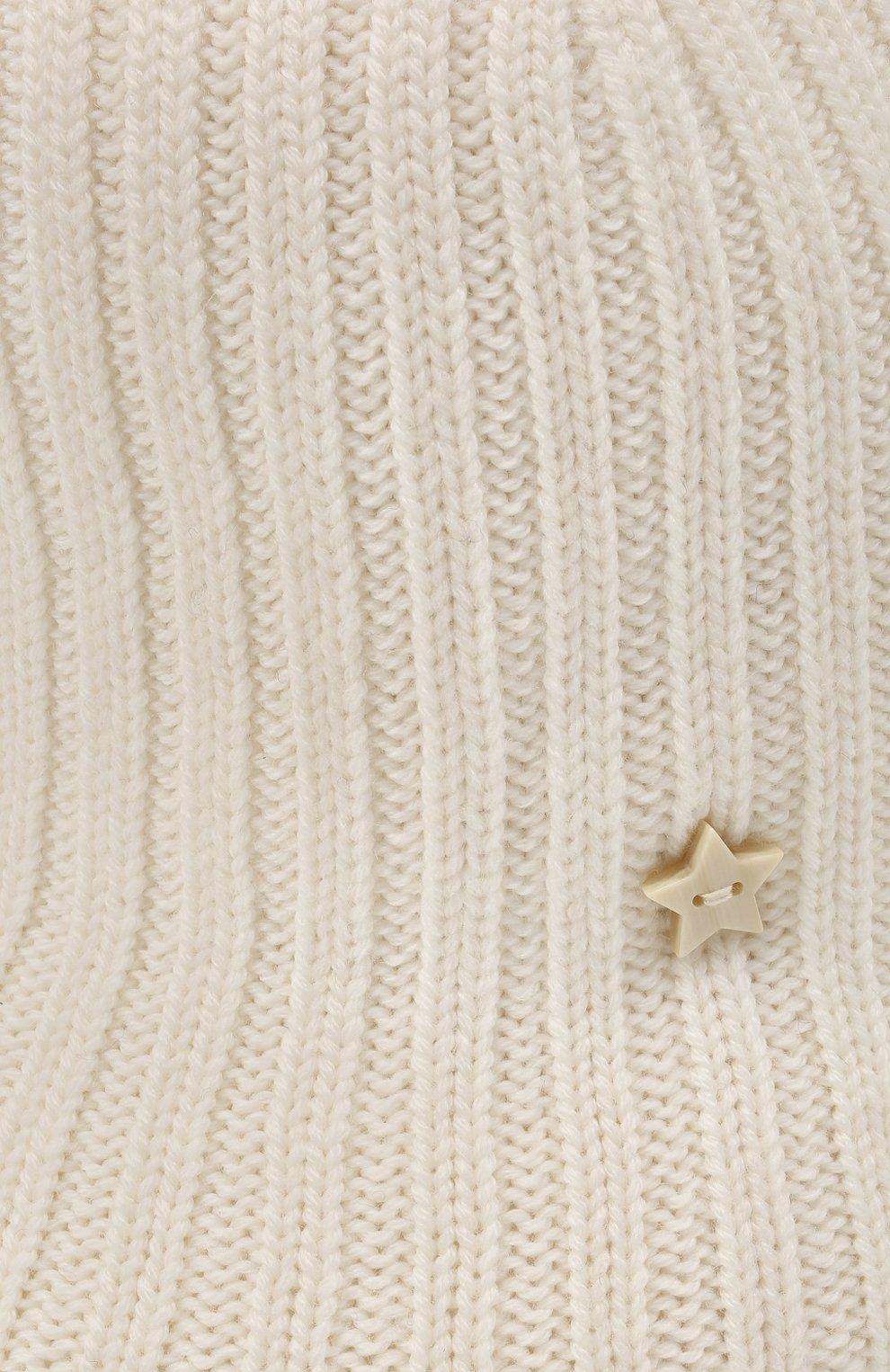 Женская шерстяная шляпа LORENA ANTONIAZZI кремвого цвета, арт. A2196CE002/328 | Фото 3 (Материал: Шерсть)