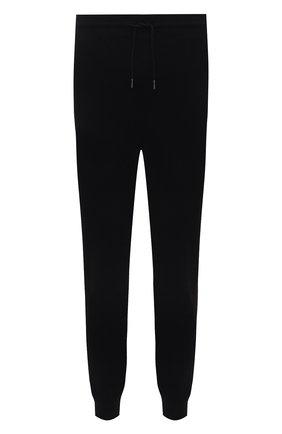 Мужские хлопковые джоггеры HUGO черного цвета, арт. 50456884 | Фото 1 (Материал внешний: Хлопок; Силуэт М (брюки): Джоггеры; Длина (брюки, джинсы): Стандартные; Мужское Кросс-КТ: Брюки-трикотаж; Стили: Спорт-шик)