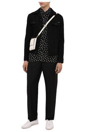 Мужская джинсовая куртка DOLCE & GABBANA черного цвета, арт. G9VZ8D/G8CN9 | Фото 2