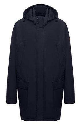 Мужская утепленное пальто PAUL&SHARK темно-синего цвета, арт. 11312002/DF/3XL-6XL | Фото 1