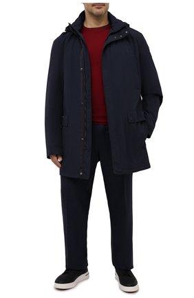 Мужская утепленное пальто PAUL&SHARK темно-синего цвета, арт. 11312002/DF/3XL-6XL | Фото 2