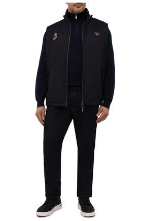 Мужской утепленный жилет PAUL&SHARK темно-синего цвета, арт. 11312059/DF/3XL-6XL | Фото 2