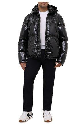 Мужская пуховая куртка PAUL&SHARK черного цвета, арт. 11312306/HT1/3XL-6XL | Фото 2