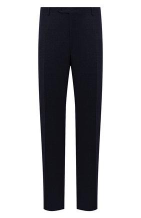 Мужские шерстяные брюки CANALI темно-синего цвета, арт. 71012/AN00019/60-64   Фото 1