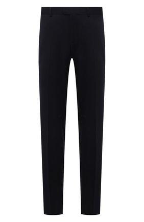 Мужские шерстяные брюки Z ZEGNA темно-синего цвета, арт. 222825/6700GX | Фото 1