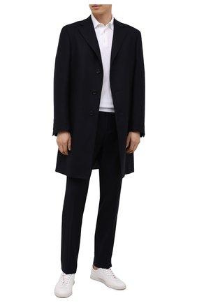 Мужские шерстяные брюки Z ZEGNA темно-синего цвета, арт. 222825/6700GX | Фото 2