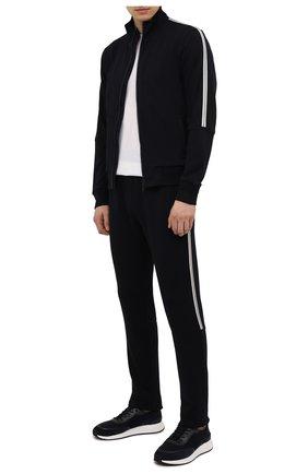 Мужские шерстяные брюки Z ZEGNA темно-синего цвета, арт. VY475/ZZTP25 | Фото 2