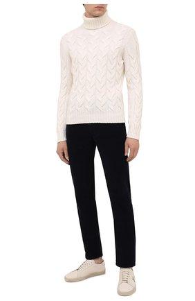 Мужской шерстяной свитер GRAN SASSO кремвого цвета, арт. 13131/22610 | Фото 2