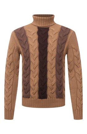 Мужской шерстяной свитер GRAN SASSO светло-коричневого цвета, арт. 13131/22609 | Фото 1