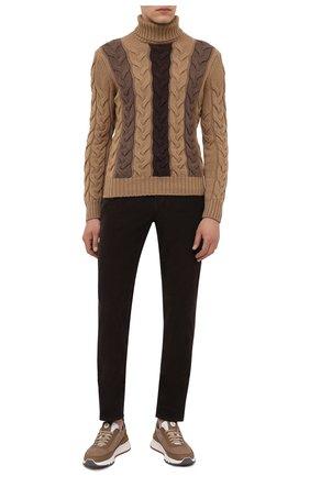 Мужской шерстяной свитер GRAN SASSO светло-коричневого цвета, арт. 13131/22609 | Фото 2