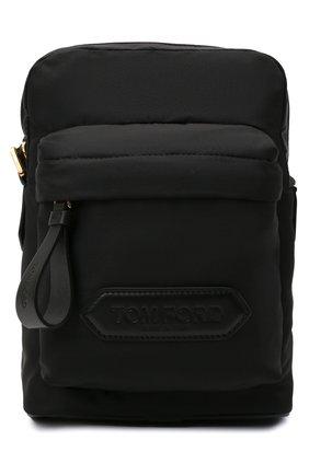 Мужская текстильная сумка TOM FORD черного цвета, арт. H0461T-TNY005   Фото 1