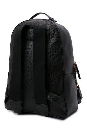Мужской кожаный рюкзак VALENTINO черного цвета, арт. WY2B0340/QPT | Фото 3