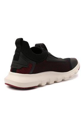 Мужские текстильные кроссовки techmerino sock 2.0 elastic Z ZEGNA бордового цвета, арт. A5106X-LHSTE | Фото 4 (Материал внешний: Текстиль; Материал внутренний: Текстиль; Подошва: Массивная; Стили: Спорт)