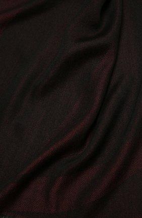 Мужской шарф из кашемира и шелка ERMENEGILDO ZEGNA бордового цвета, арт. Z2L35S/22F | Фото 2