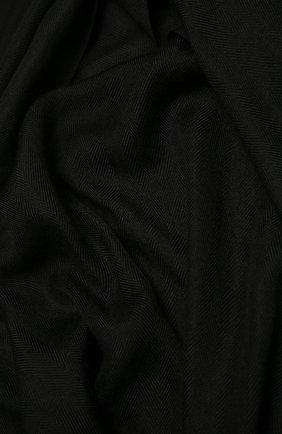 Мужской шарф из кашемира и шелка ERMENEGILDO ZEGNA черного цвета, арт. Z2L35S/22F | Фото 2