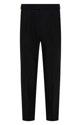 Мужские шерстяные брюки ERMENEGILDO ZEGNA темно-синего цвета, арт. UYI09/TP22 | Фото 1