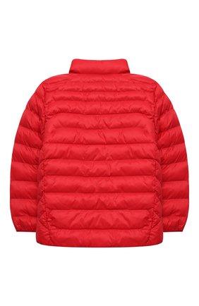 Детский утепленная куртка POLO RALPH LAUREN красного цвета, арт. 321847233 | Фото 2